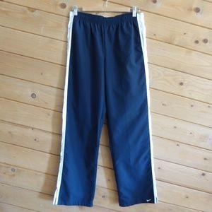 Nike Navy Full Length Track Pants Waistband Jogger